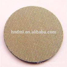 Treillis métallique tissé fritté en acier inoxydable à cinq couches de 1 micron