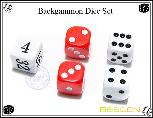 Backgammon Dice Set