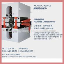 MDF- und Spanplattenschleifmaschine