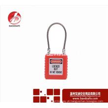 Wenzhou BAODSAFE BDS-S8651Red Cabo Segurança cadeado lockout loto lock