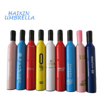 Welcome Baby Gift Custom Logo Digital Printing Cheap Wine Bottle Deco Shape Umbrella Design Factory In Guangzhou