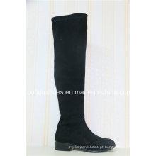 Elegant Winer Long Rubber Ladies Boots