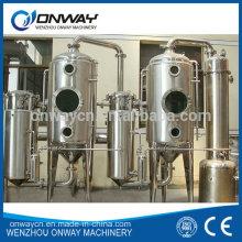 High Efficient Factory Price Stainless Steel Industrial Forced Circulating Evaporator Vacuum Orange Water Distillery