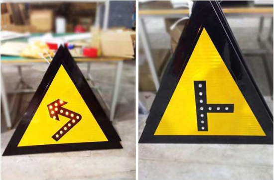 LED traffic sign