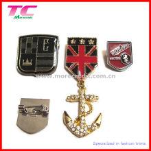 Insigne de badge en métal personnalisé de haute qualité