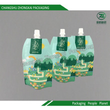 Stand up Spout Pouch Children Drink Packaging Bag