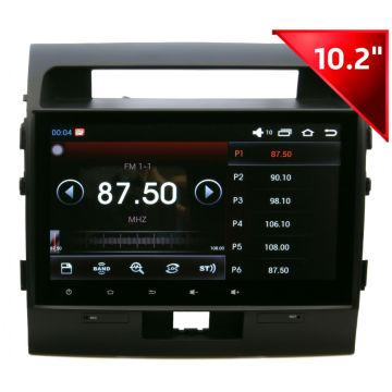 Appareil de voiture pour MP5 / GPS / Bt / iPod / iPhone 5s pour Toyota Landcruiser (HD1006)