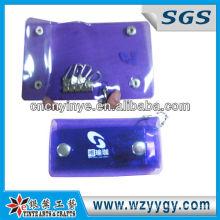 Promotional Purple Pvc Key Cases / Wallets