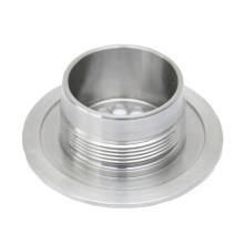 aleación de magnesio y aluminio piezas de accesorios de torneado cnc