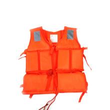 Куртка из полиэтиленовой пены (оранжевая).