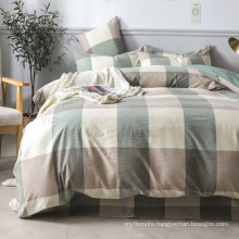Apartment Cotton Bedding Set Cheap Price New Product 3 PCS Double Bed