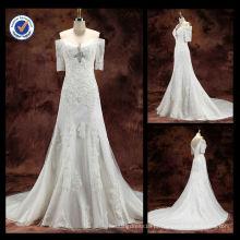 WA00075 Aplicação quente para o vestido de casamento de amostra real