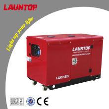 10.0kw бесшумный дизельный генератор с двухцилиндровым двигателем Lombardini мощностью 20 л.с. (954cc)