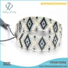 Handcrafted bracelets seed bead bracelets, Bohemia seed bead jewelry patterns