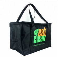 Wholesale 30 can 600d polyester insulated cooling beer cooler bag