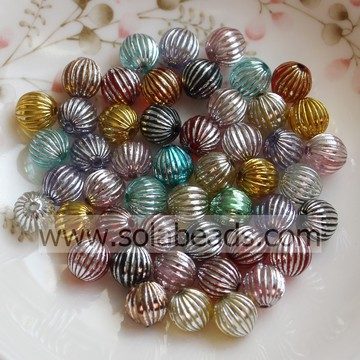 Top 10mm Earring Round Smooth Tiny beads