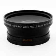 Macro Lens 72mm 0.43x Super Wide Angle Lens For Canon Nikon Olympus Pentax