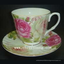Kaffee-Tasse und Untertasse (CY-B535)