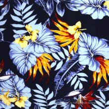 100% вискоза hawaii принт район ткани оптом