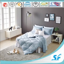 Edredão de penas de ganso com impressão Soild para roupa de cama em casa na Coreia