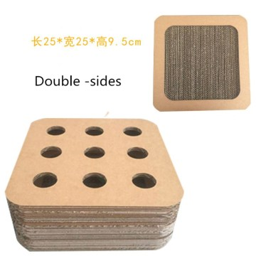 Cardboard Cat Scratcher Toy Puzzling Scratcher Box