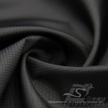 Wasser & Wind-resistent Outdoor Sportswear Daunenjacke Gewebter Diamant Plaid Jacquard 100% Polyester Stoff (53082)