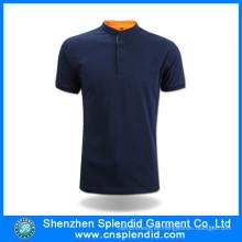 Neuer Design 100% Baumwolle Polo T-Shirt Hersteller in China