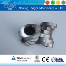 Composant de vis traité avec précision pour machine en plastique Tenda