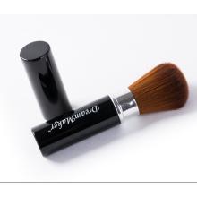 Single Synthetic Braunes Haar Schwarz Ferrule Kabuki Kosmetik Pinsel