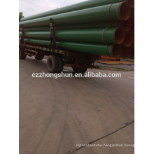 3PE steel pipe/ CS PAINTED PIPELINE /2PE TUBE PE COATED API