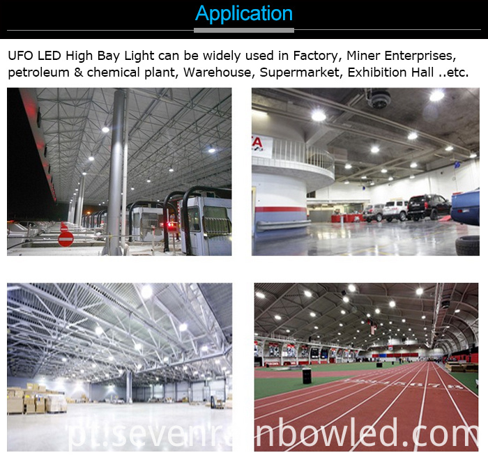 Meanwell HLG Driver High Bay Lighting Led
