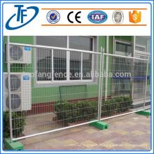 Vente directe d'usine cloture de piscine temporaire revêtue de pvc de haute qualité