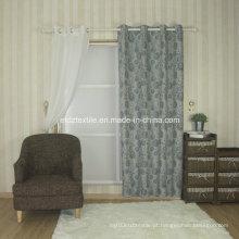 2016 Tecido de linho quente da cortina do Jacquard da venda 6021 #