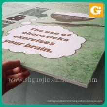 Custom Cardboard Shapes Advertising Board Backdrop