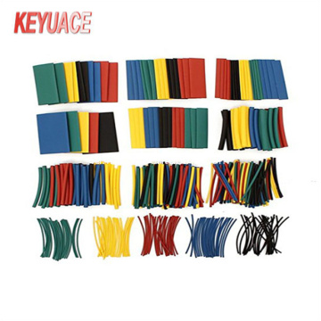 Campuran Warna Heat Shrink Tube Sleeving dengan kotak