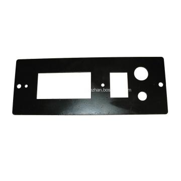 Placa de interruptor de botón de acero