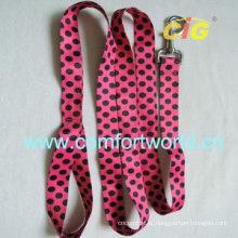 Novo design de moda adoro a china do animal de estimação bonito trela do cão