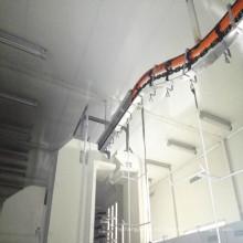 Equipo automático de recubrimiento en polvo con cabina de pulverización