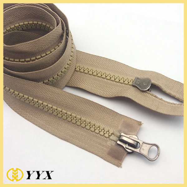 two way separating zipper