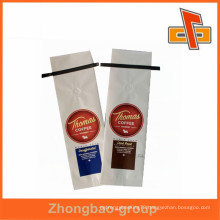 Excellent quality food packaging white kraft paper bag for coffee packaging