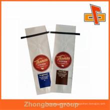 Embalagem de alimentos de qualidade excelente saco de papel kraft branco para embalagem de café