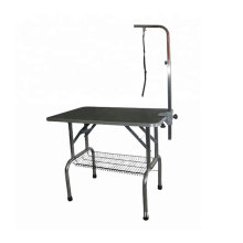 High quality  Pet Grooming Table with basket Stainless Steel