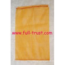 Yellow Tubular Mesh Bag D (25-19)