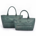 Leder TOTE Heritage Made In Italy Quaste Tasche