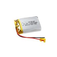Bateria Li-Polymer personalizada 103040 Bateria recarregável 3.7V 1200mAh
