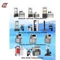 Máquinas de teste de tração da série WAW-E para produtos de aço