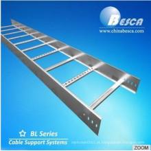 Bandeja de bandeja de cabo com trilho lateral - padrão / NEMA / OEM