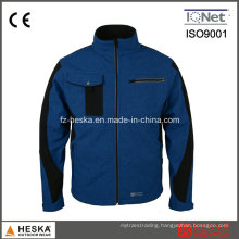 3 Layer Imitation Jean OEM Softshell Jacket