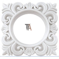 Square Plastic Curtain Ring for Home Decoration