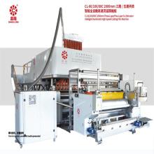 Three Extruders Machinery Cast Stretch Film Maker